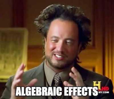«Алгебраические эффекты» человеческим языком - 1