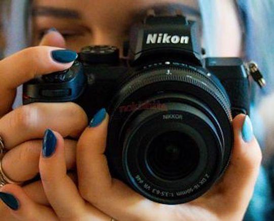 Фото дня: беззеркальная камера Nikon Z50