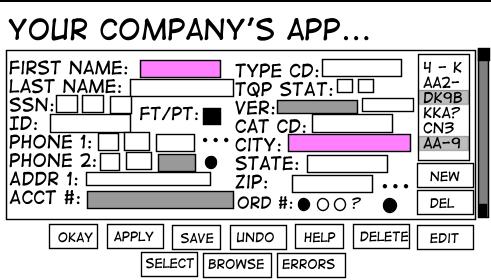 Когда хочется красивый GUI, а gpu нет - 1