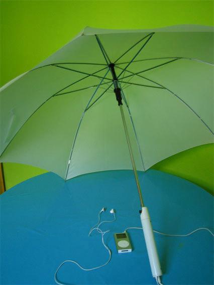 Осенняя подборка: а что вы думаете об умных зонтах? - 8