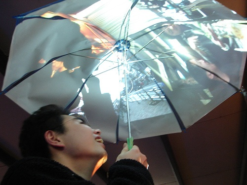 Осенняя подборка: а что вы думаете об умных зонтах? - 1