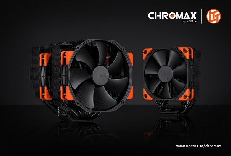 Процессорные системы охлаждения Noctua NH-D15, NH-U12S и NH-L9i теперь доступны и в черном цвете