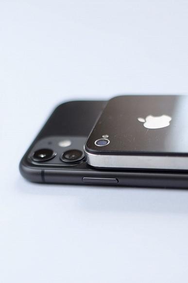 Дизайн с разницей в девять лет. iPhone 11 сравнили с iPhone 4, на который будет похож iPhone 12