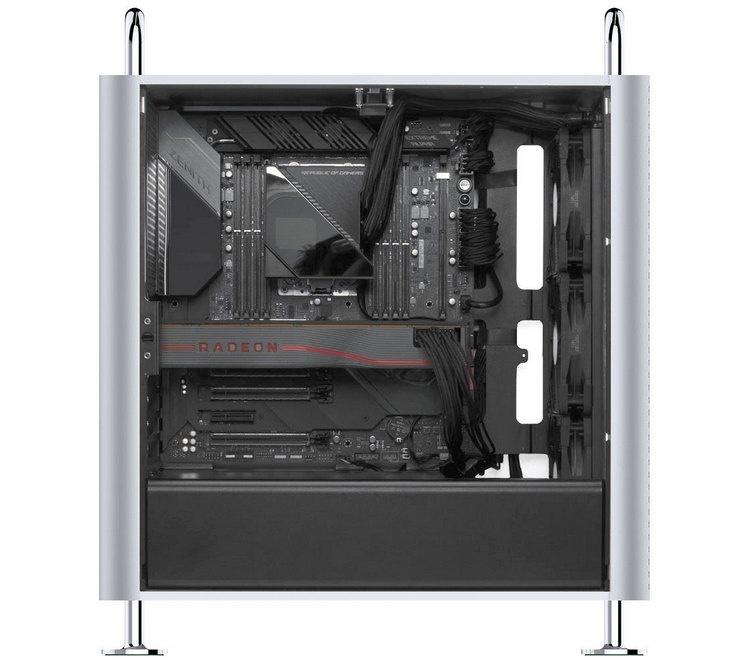 Корпус Dune Pro позволяет собрать свою версию Mac Pro из любых комплектующих