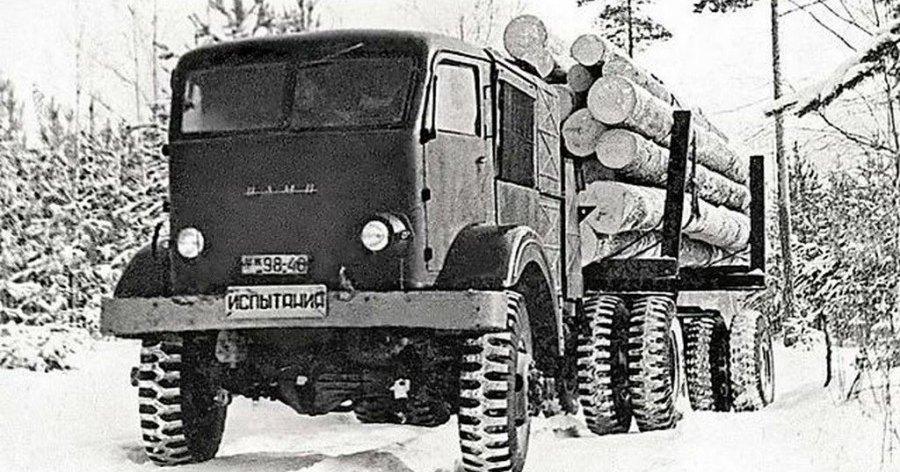 НАМИ-012: советский дровяной паромобиль