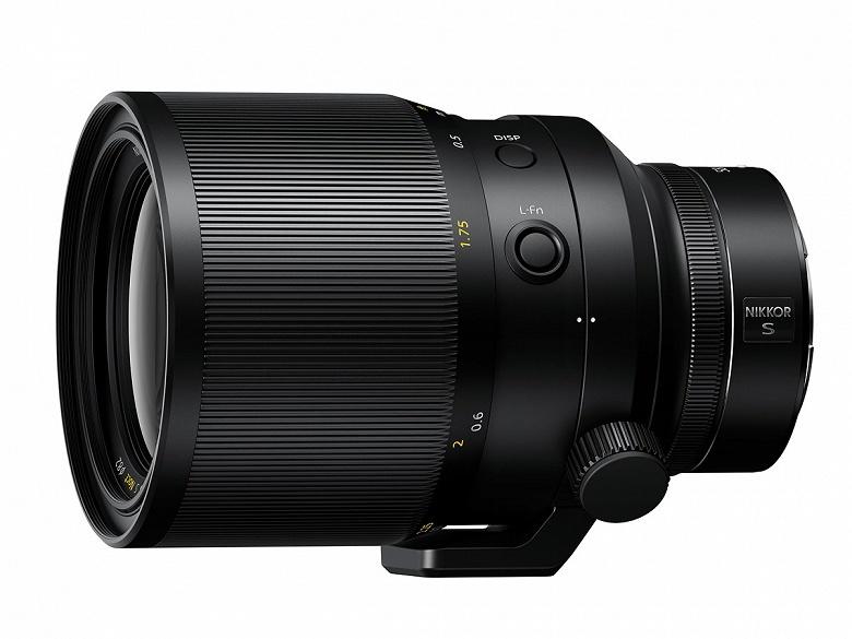 Представлен объектив Nikkor Z 58mm f/0.95 S Noct