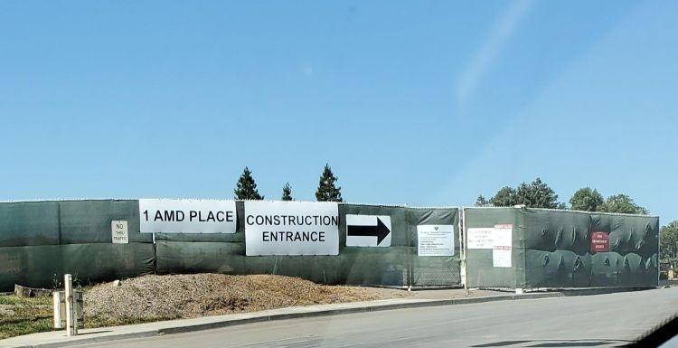 Здание первой штаб-квартиры AMD превратилось в руины