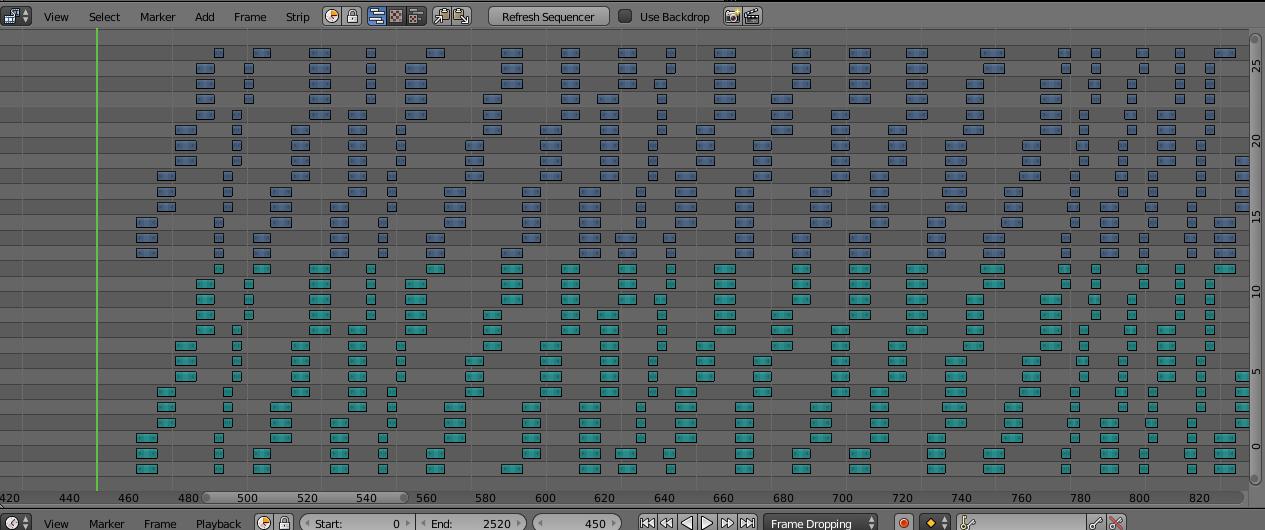 Генератор музыкальных каверов на Python в Blender - 2