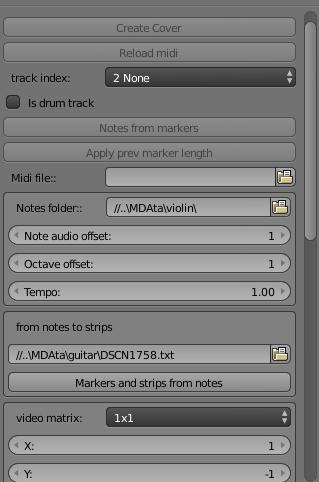 Генератор музыкальных каверов на Python в Blender - 3