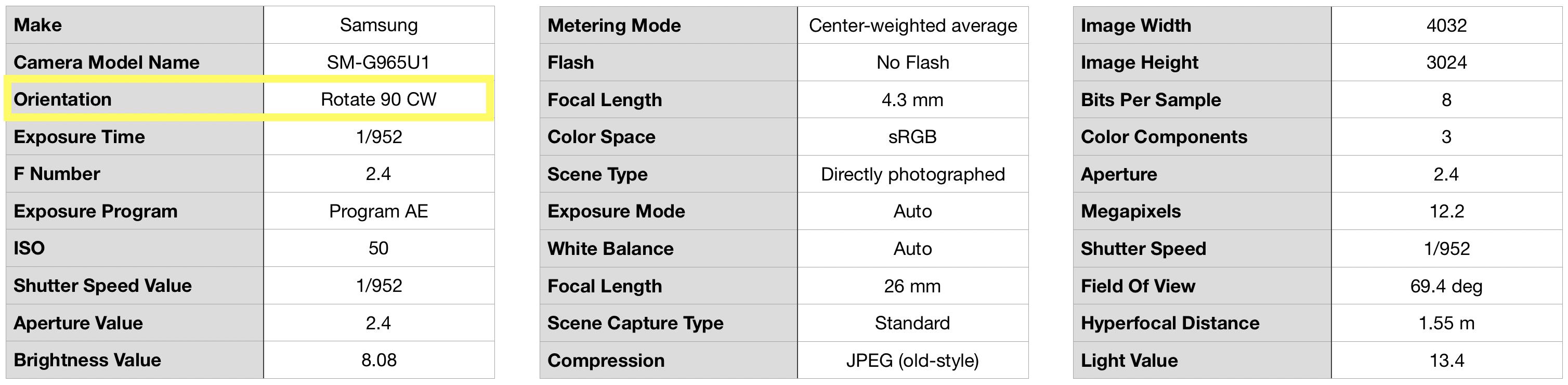 Глупая причина, по которой не работает ваше хитрое приложение машинного зрения: ориентация в EXIF - 4