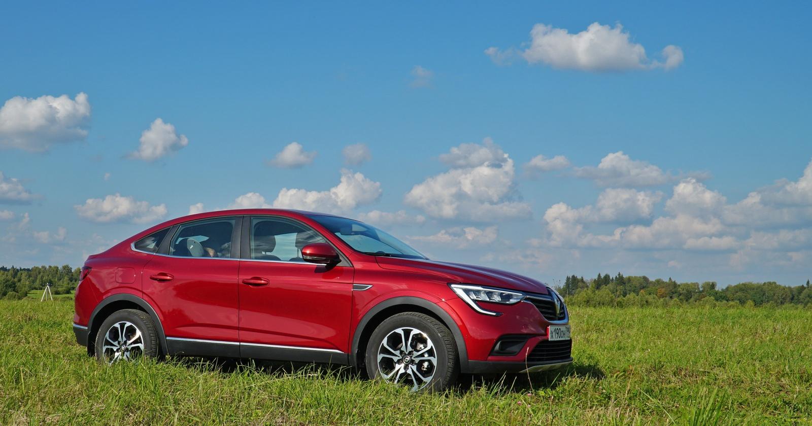 Кроссовер на миллион: тест Renault Arkana