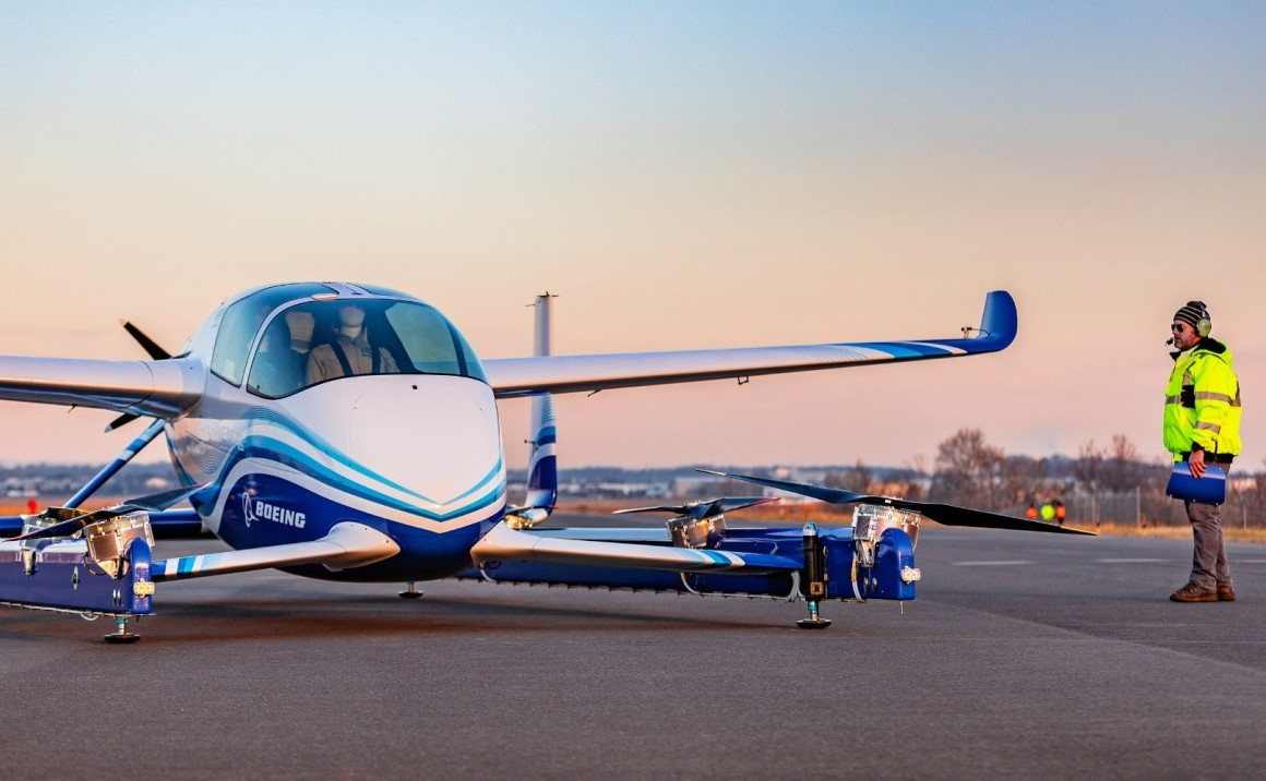 Boeing и Porsche хотят вместе разработать летающий электромобиль - 1