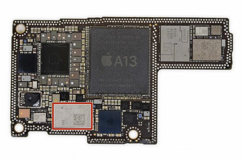 Чипсет Apple U1 был создан в Купертино