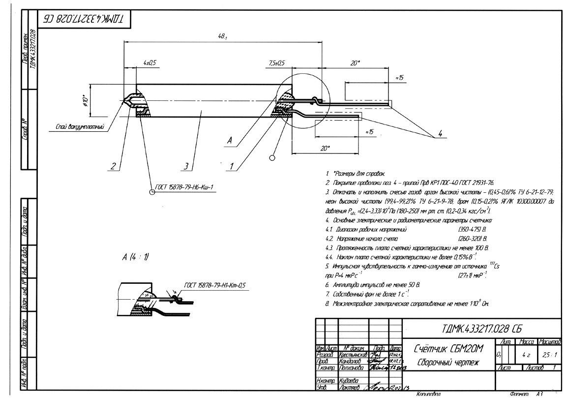 Дозиметр для Серёжи. Часть II. «столетние трубки» vs мирный атом - 8