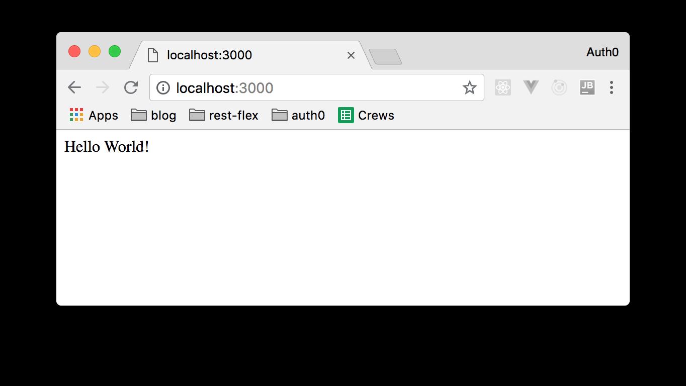 Full-stack TypeScript Apps - 1