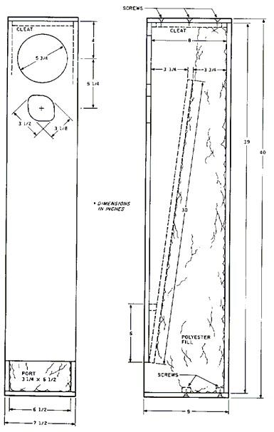 Альтернатива гудящим фазоинверторам: трансмиссионные линии (TQWT, ALT) - 6