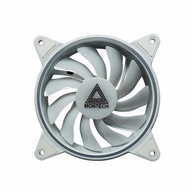Корпусные вентиляторы Montech Z3 ARGB предложены по три штуки в комплекте с концентратором и пультом ДУ