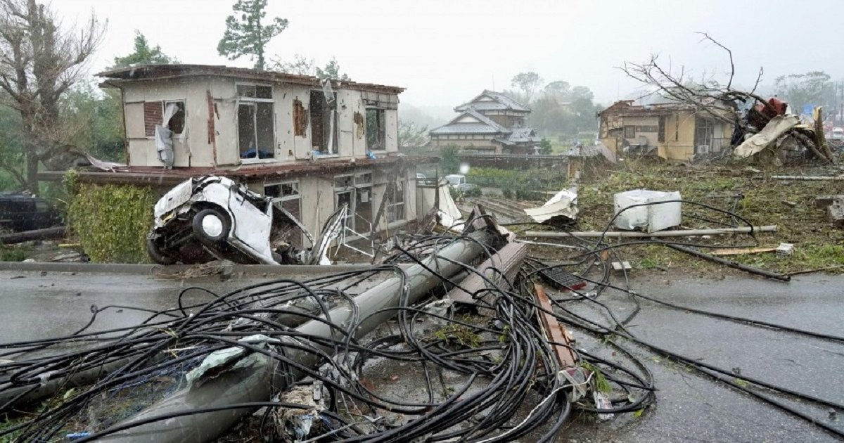 Последствия тайфуна Хагибис в Японии