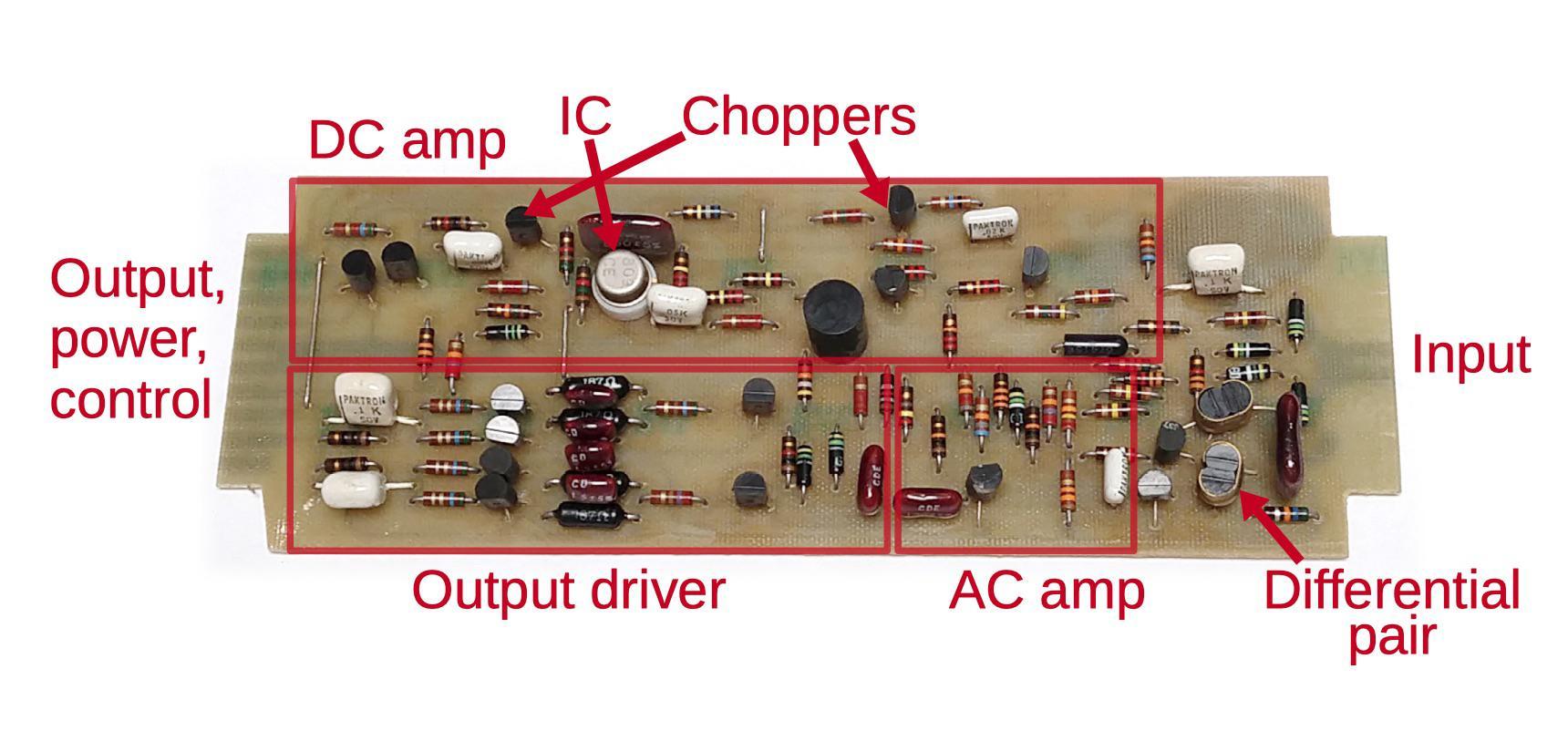 Реверс-инжиниринг малошумящих операционных усилителей из аналогового компьютера 1969 года - 8