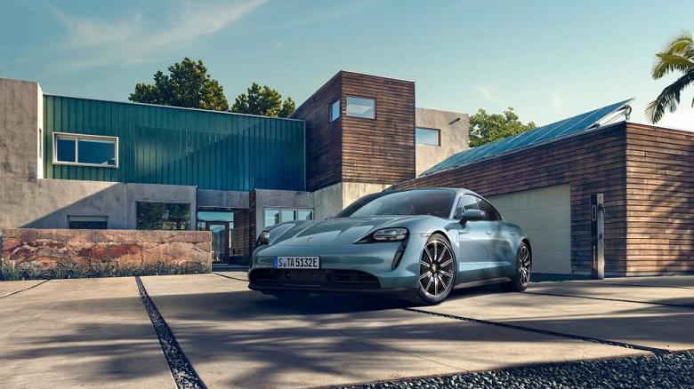 Суперкар Porsche по цене Tesla. Представлен Taycan 4s