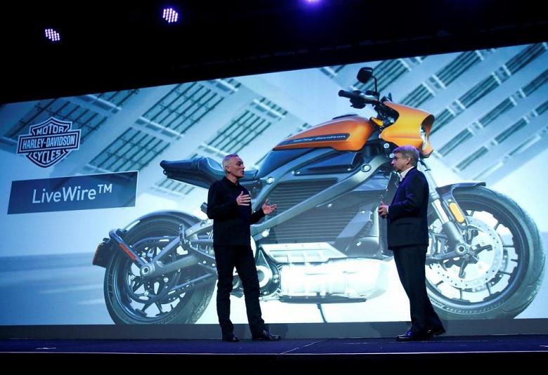 Harley-Davidson останавливает производство электрических мотоциклов