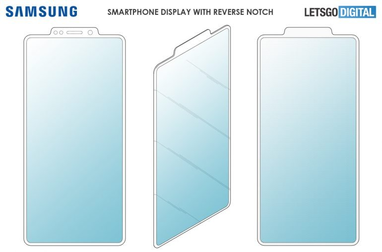 Samsung наносит ответный удар Xiaomi и Huawei. Недорогие смартфоны станут безрамочными благодаря «обратному» вырезу