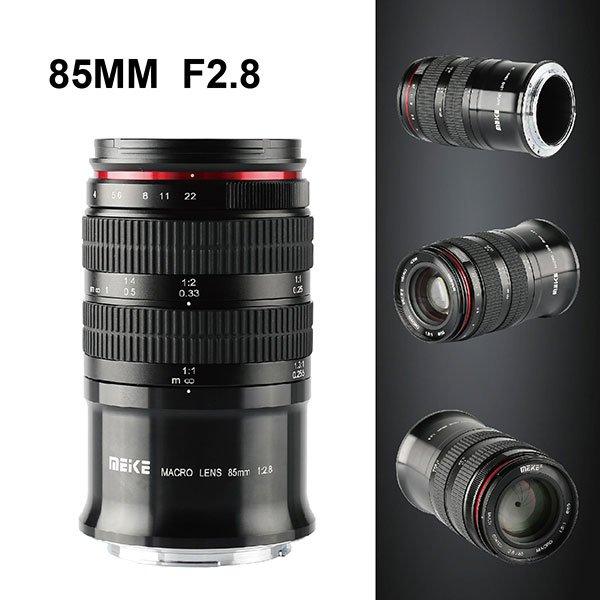 Начались продажи объектива для макросъемки Meike 85mm F2.8 с креплением Nikon Z