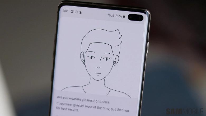 Держите глаза открытыми. Новая оболочка Samsung на Android 10 сможет узнавать пользователя при резкой смене имиджа