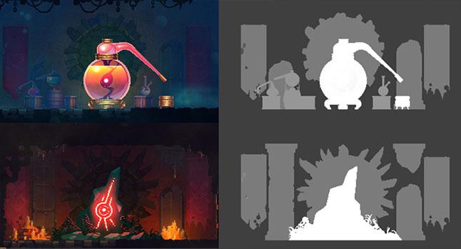 Дизайн цвета загадочных миров Dead Cells - 12