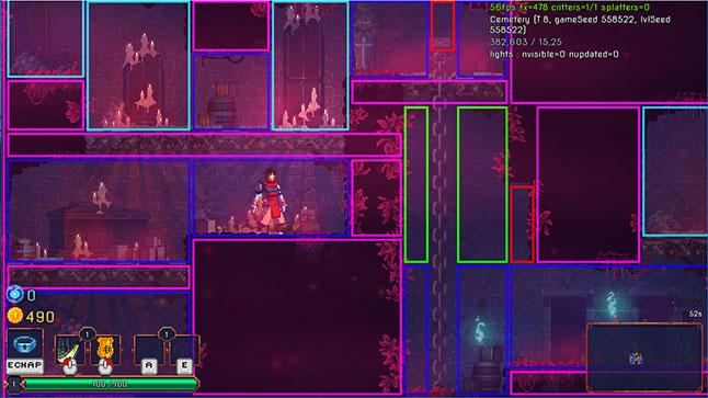 Дизайн цвета загадочных миров Dead Cells - 15