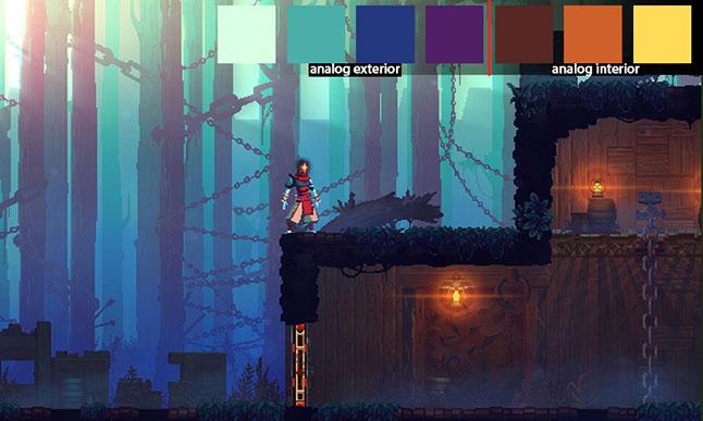 Дизайн цвета загадочных миров Dead Cells - 2