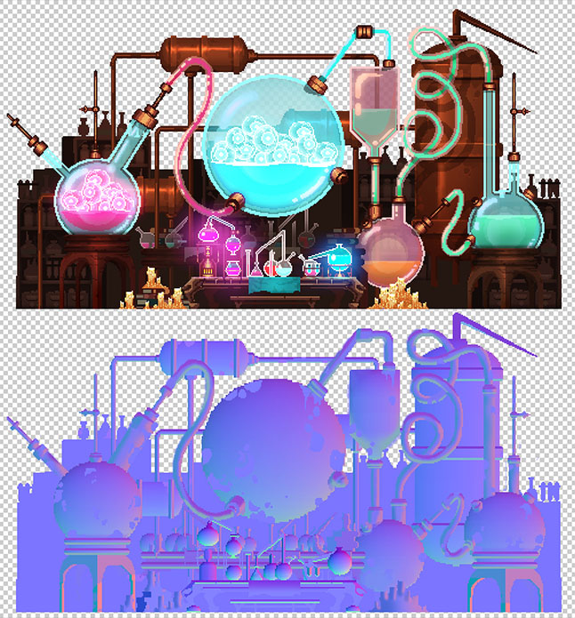 Дизайн цвета загадочных миров Dead Cells - 21