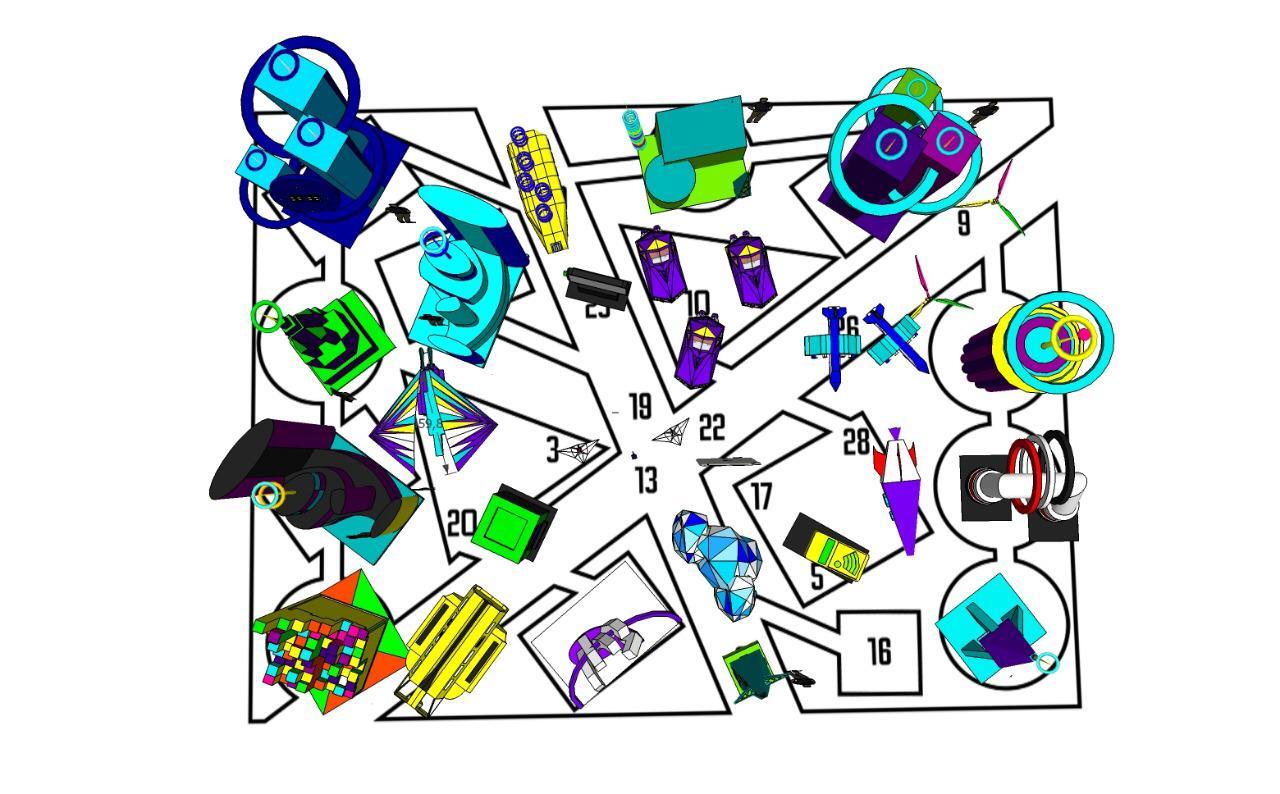 Пятиметровое оригами, или Как построить футуристический город из картона - 23