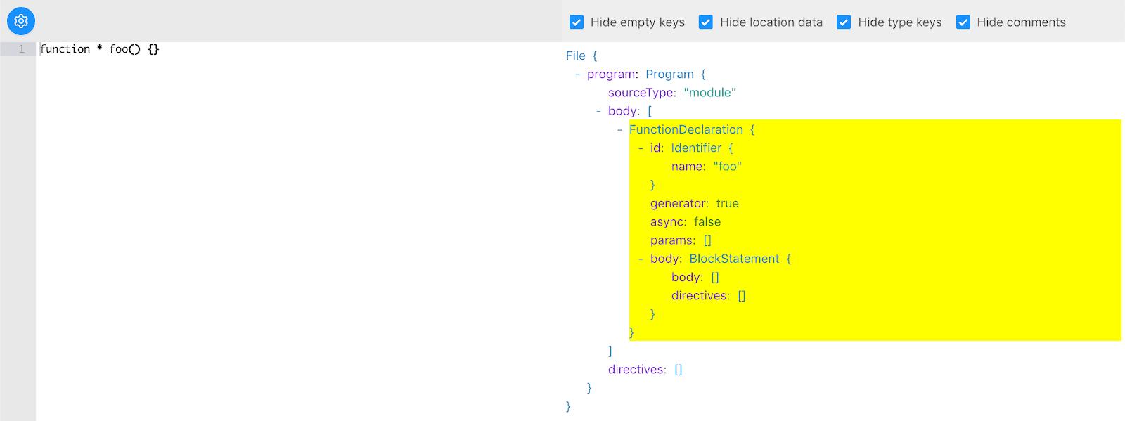 Создание собственных синтаксических конструкций для JavaScript с использованием Babel. Часть 1 - 3