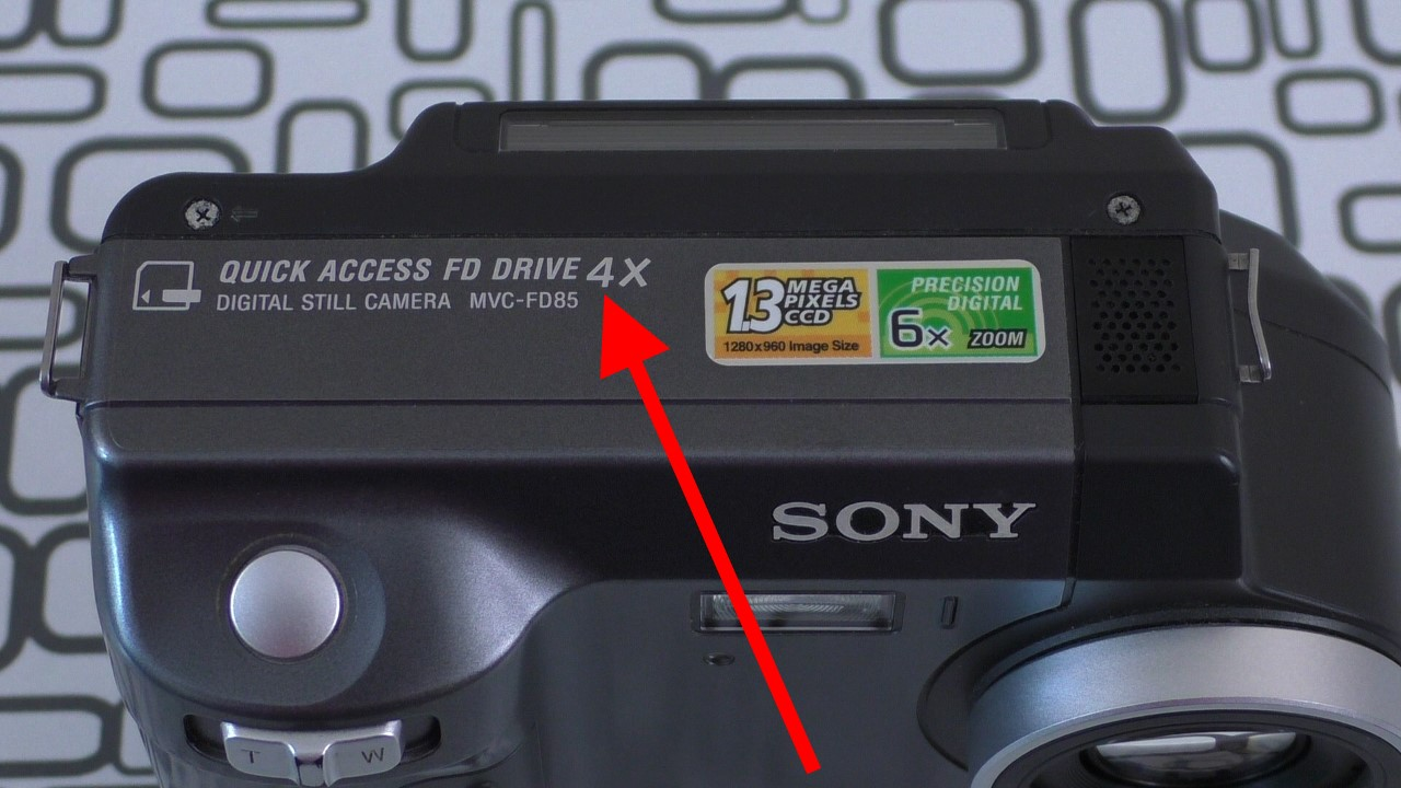 Фотоаппарат на дискетах: 8 интересных фактов о Sony Mavica MVC-FD85 (много картинок) - 2