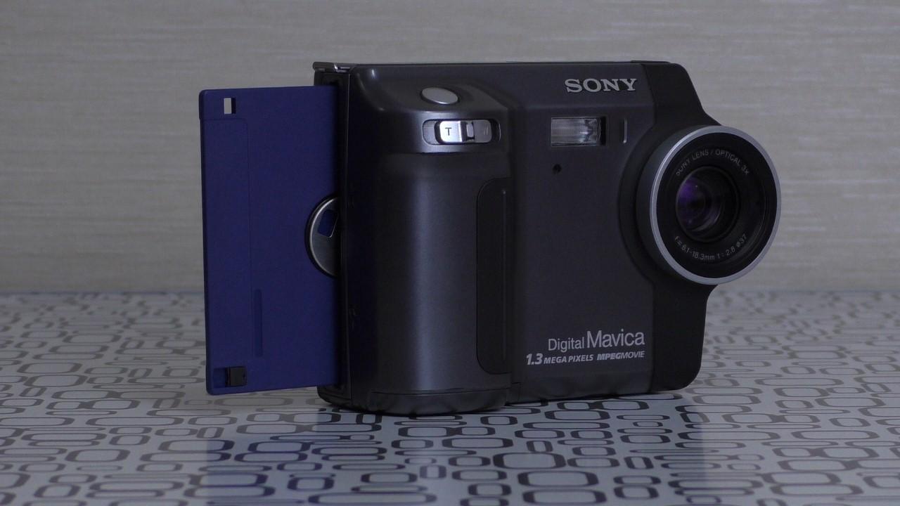 Фотоаппарат на дискетах: 8 интересных фактов о Sony Mavica MVC-FD85 (много картинок) - 1
