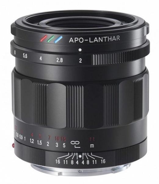 Названы цена и срок начала продаж объектива Voigtlander 50 mm/1:2,0 Apo-Lanthar с креплением Sony E