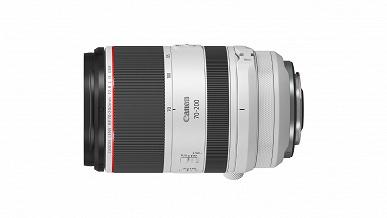 Появились спецификации объективов Canon RF 70-200mm f/2.8 L IS USM и RF 85mm f/1.2 L USM DS