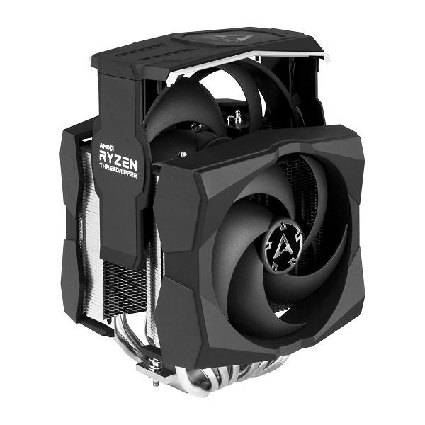 Система охлаждения Arctic Freezer 50 TR ARGB предназначена для процессоров AMD Ryzen Threadripper