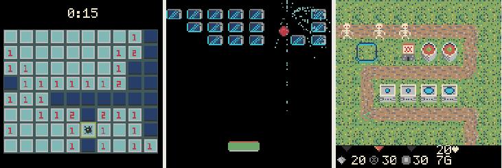 Игровая консоль и игры к ней своими руками. Little Game Engine + ESPboy - 2