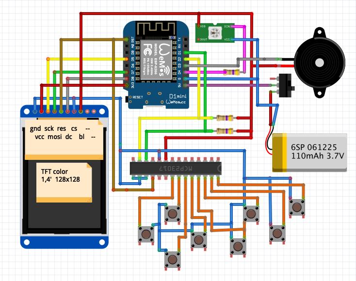 Игровая консоль и игры к ней своими руками. Little Game Engine + ESPboy - 6