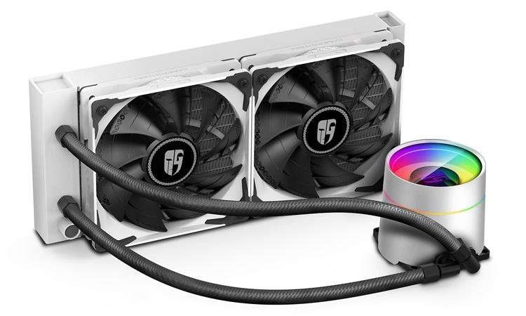 Система охлаждения Deepcool Castle 240EX White подходит для чипов AMD и Intel