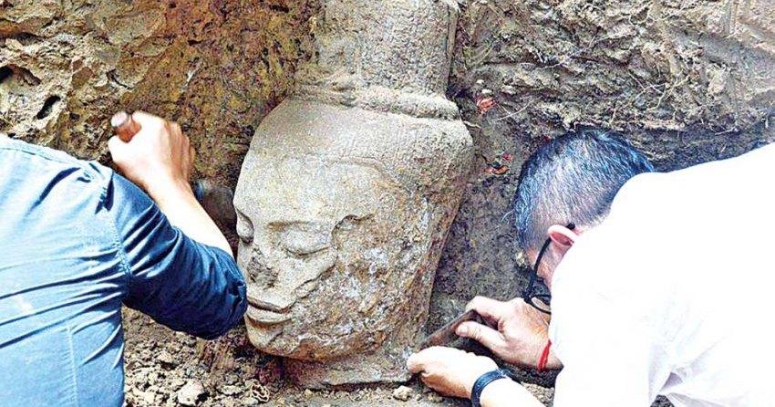 В Камбодже найдена голова совершенного человека