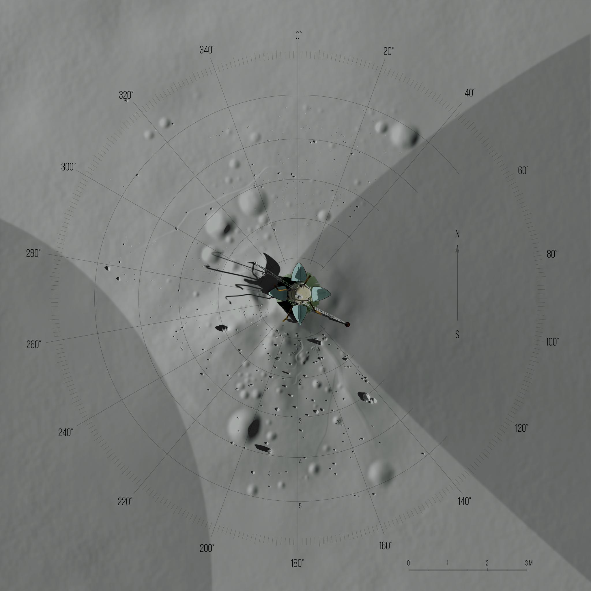 Как я реконструировал места посадок АЛС Луна 9 и Луна 13 - 13