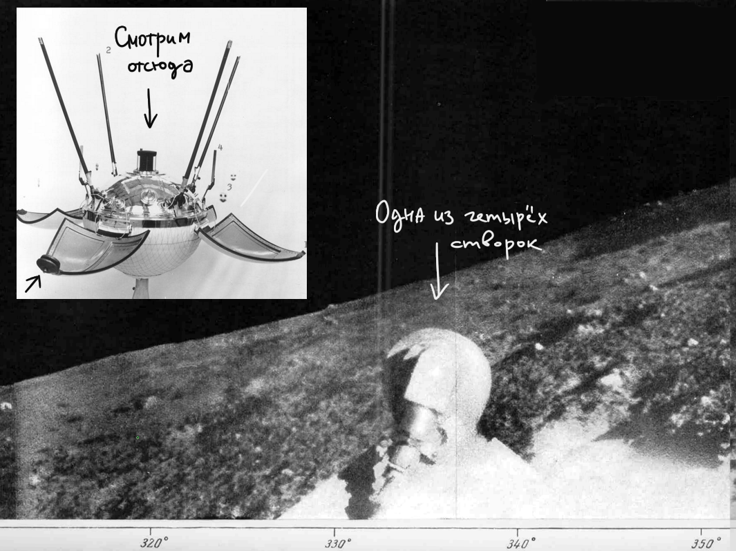Как я реконструировал места посадок АЛС Луна 9 и Луна 13 - 4