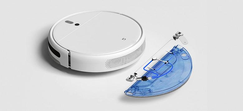 Xiaomi порадовала дешевым моющим роботом-пылесосом