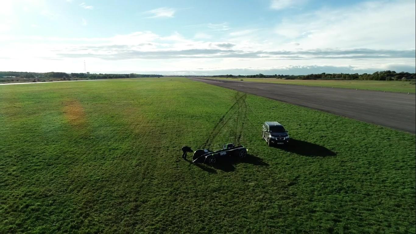 Электромобиль Robocar занесен в Книгу рекордов Гиннеса как самая быстрая в мире автономная машина - 2