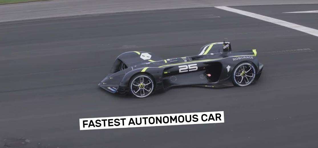 Электромобиль Robocar занесен в Книгу рекордов Гиннеса как самая быстрая в мире автономная машина - 1