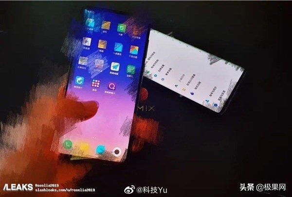 Xiaomi Mi Mix 4 засняли вживую