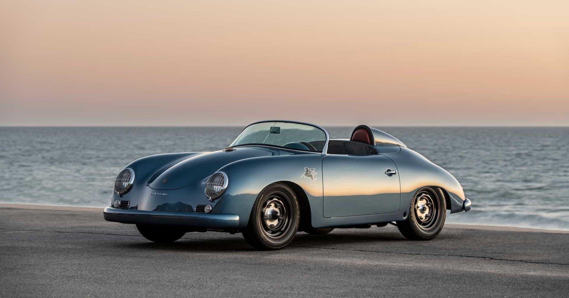 Ателье создало необычный рестомод Porsche 356 Speedster